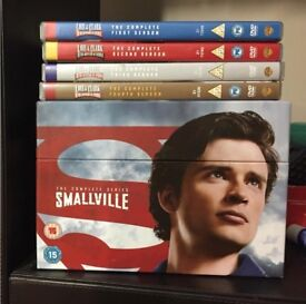 Smallville 1-10 and Lois and Clark 1-4 boxsets