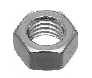 UNF-Fine-Thread-Hex-Nuts-1-4-039-039-5-16-034-3-8-034-7-16-034-1-2-034-ANSI-B18-2-2-Zinc-Plated