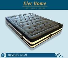 PS58 Bamboo Fiber Fabric Memory Foam Pocket Spring Mattress Clayton South Kingston Area Preview