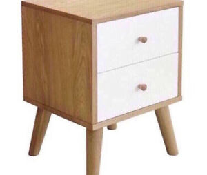 NEW FREEDOM FURNITURE OSLO BEDSIDE TABLE Chester Hill Bankstown Area Preview