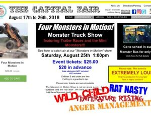 FOUR MONSTERS IN MOTION tickets