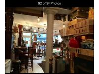 7 Year Lease Of Popular cafe for Sale