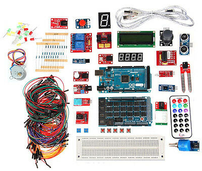 Experimentation Kit - Genuine Arduino Mega 2560 Experimentation Kit with 2-Channel Relay module