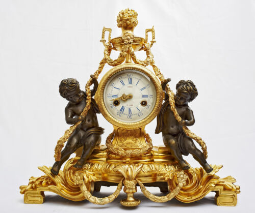 your guide to buying a brass antique mantel clock - Mantel Clock