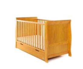 Kiddicare Cot Bed with storage drawer
