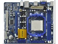 N68-VS3 FX Motherboard 2.8ghz Processor included