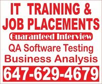 GTA's #1 QA Software Testing Training, CO-OP, Job Placements
