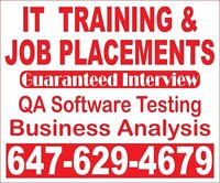 GTA's#1 Quality Assurance Sofware Testing Training, Project COOP
