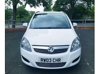IMMACULATE 2014 ZAFIRA 7 SEATER 28k MILES PEOPLE CARRIER s max galaxy Alhambra x5 q7