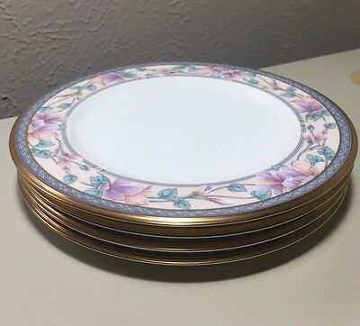 Noritake Embassy Suite Salad Plate 8 1 2  Set Of 4 Discontinued