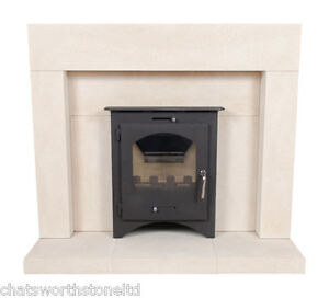 Limestone Fireplace Stone Fire Surround For Inset Fire