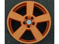 Alloy wheel repair refurbish fix dent crack buckle paint colour change diamond cut weld strip blast