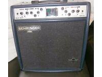 guitar --- Behringer Blue Devil Guitar amp