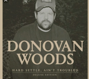 Two tickets -Donovan  woods - 2pm -Halifax