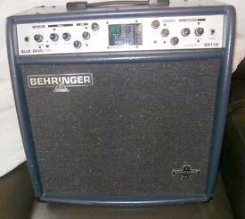 Guitar Amplifier combo --- Behringer Blue Devil Guitar amp