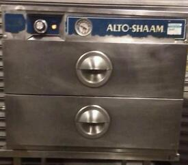 ALTO SHAAM 2 DRAWER HOLDING CABINET FOR PERI PERI CHICKEN. KEEPS CHICKEN FRESH AND MOIST