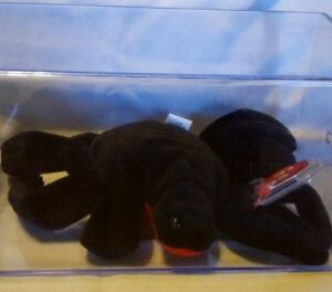 WEB the spider~AUTHENTICATED~3RD GENERATION TY BEANIE BABY!