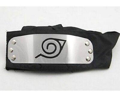 DZ490 On Sale Hot Sale For NARUTO LEAF Black Headband Head Band Cosplay New - Naruto Headbands For Sale