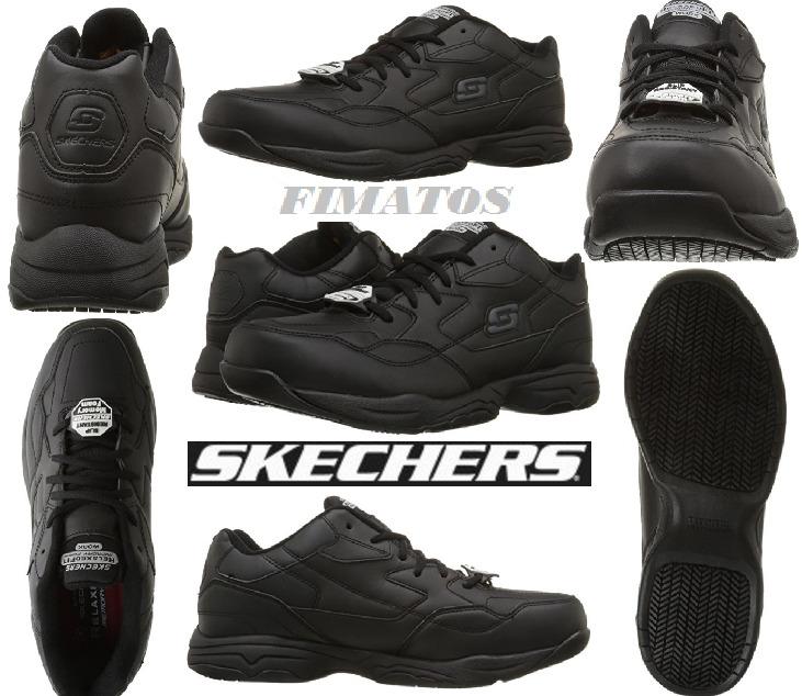 Skechers for Work Men's Felton Walking Shoe,with Memory foam