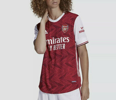 Adidas 2020 2021 ARSENAL Authentic Home Soccer Jersey Football Shirt FH7815 Sz L image