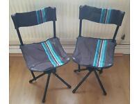 Camping foldaway chairs