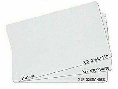 Qty 50 Kantech P20dye Ioprox Xsf26 Bit Identification Proximity Cards Code 40