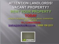 Landlords – Empty Property? Want To Rent Quickly With No Agency Fees ? Look No Further
