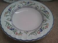 3 Staffordshire Tableware Hampton Court Pattern Soup Bowls Bowl 6 7/8'' All 3 £ 10