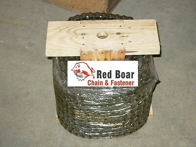 41 Roller Chain 100ft New From Red Boar Chain W10 Free Connecting Links
