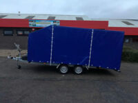 NEW Car transporter Trailer 4,5m X 2,10m 15ft x 7ft 2700kg ENCLOSED CAR TRAILER