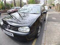 Volkswagen Golf v6 4 motion in black