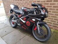 Rare Sachs XTC 125cc Super Sport Motorbike with MOT MOT till 14 June 2018