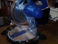 Energer 1400w 210mm compound mitre saw chop saw £45 ono. Good working order collect Bellshill