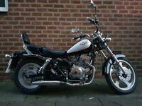 Regal Raptor 125cc AJS motorbike Cruiser style bike