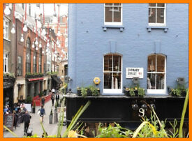 * (SOHO - W1F) * Flexible - Modern - Private OFFICE SPACE to Rent in London