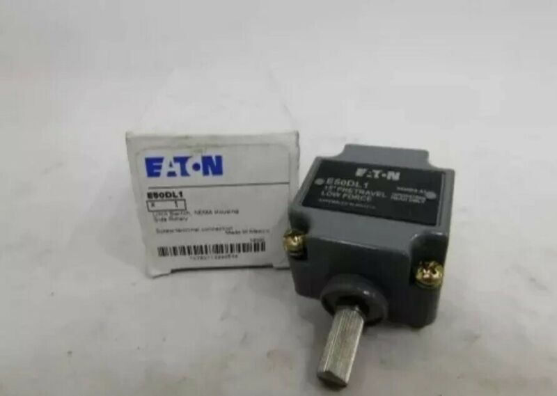 New IN BOX Eaton Cutler Hammer E50DL1 Limit Switch Turret Head Series A1