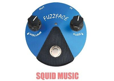Dunlop Silicon Fuzz Face Mini Blue Guitar Pedal FFM1 ( OR BEST OFFER )