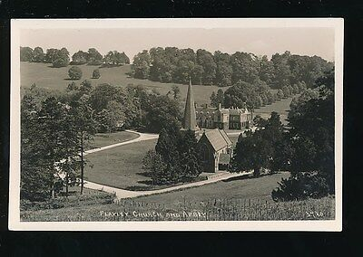Gloucestershire Glos FLAXLEY Church and Abbey  unused 1939 RP PPC
