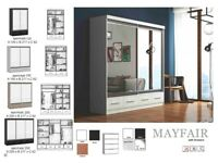🍒🍒clearance stock must go🍒🍒brand new mayfair sliding mirror wardrobe🍒🍒available now🍒🍒