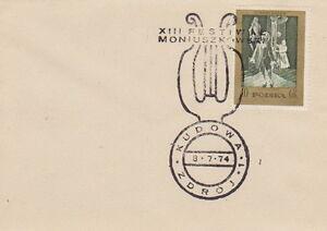 Poland postmark KUDOWA - music S. MONIUSZKO festival 1974 - <span itemprop=availableAtOrFrom>Bystra Slaska, Polska</span> - Poland postmark KUDOWA - music S. MONIUSZKO festival 1974 - Bystra Slaska, Polska