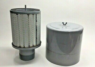 Solberg F-he234-400 Inlet Housing Filter 4 Outlet .3 Micron 10-14x10-14-14