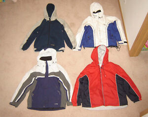 Spring and Winter Jackets, Clothes - sz 14, L, 16, mens S