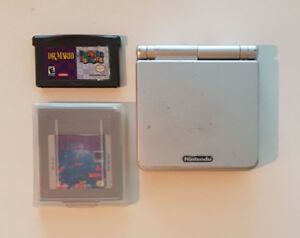 Gameboy Advanced SP in great condition with games!