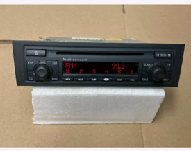Audi cd player with code