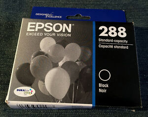 Epson 288 black ink cartridge.
