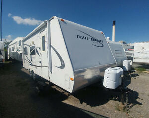 2010 trail cruiser  bunk model $12,900