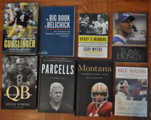 Biographies NFL - Favre, Walsh, Montana, Young, ...