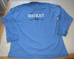 Men's Wilson long sleeve hockey shirt size Large *barely worn