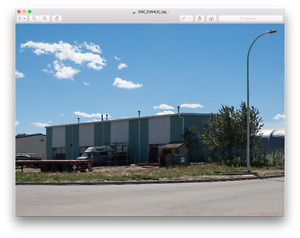 Fort McMurray Warehouse, Bay and office site with yard