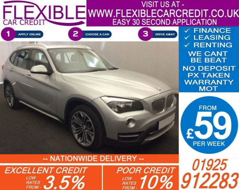 2013 BMW X1 2.0 TD XDRIVE20D X-LINE GOOD / BAD CREDIT CAR FINANCE AVAILABLE